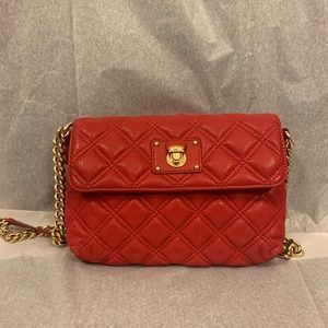 NWOT MARC JACOBS Single quilted leather bag